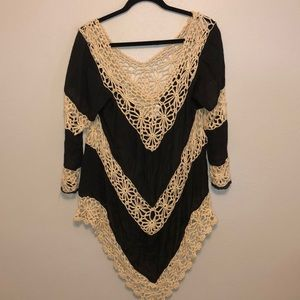 Umgee Boho Crochet Top